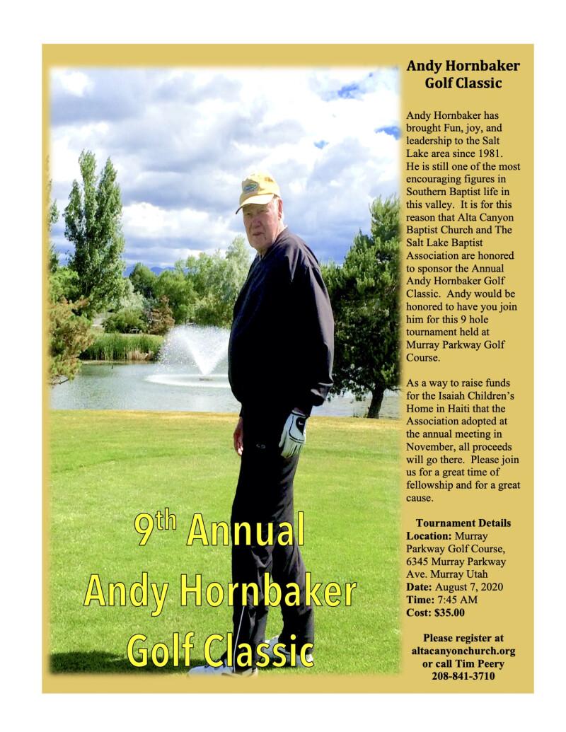 Andy Hornbaker Golf Classic
